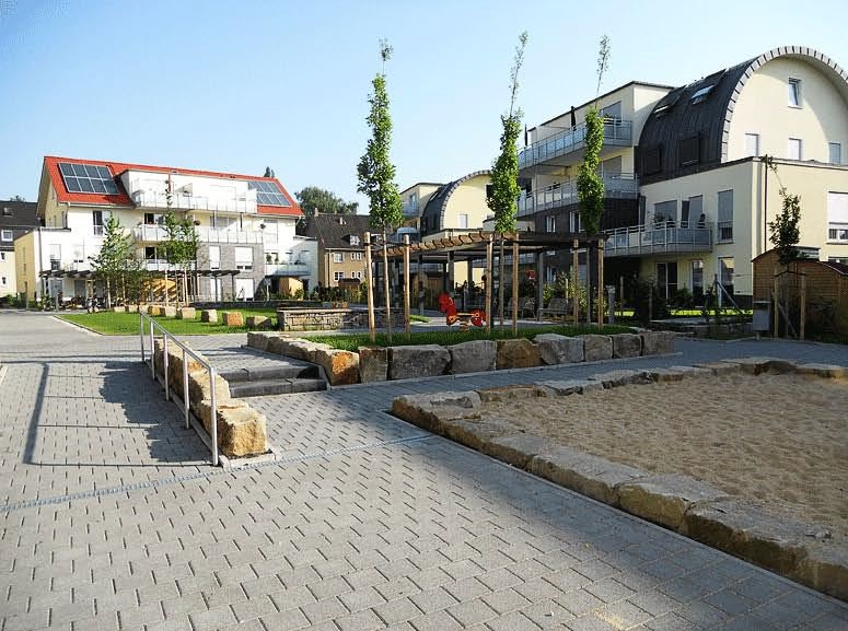 Wohnbebauung HaltenerviertelBild